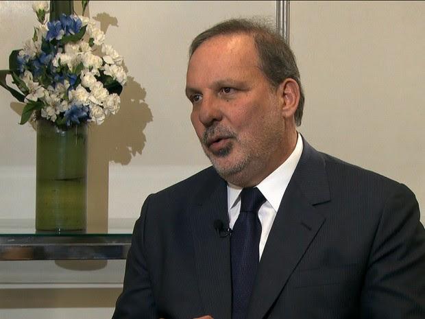 Armando Monteiro Neto, ministro do Desenvolvimento da Indústria e do Comércio Exterior/GNews (Foto: Reprodução GloboNews)