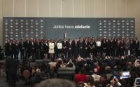 Enrique Peña Nieto y su equipo de transición. Foto: Miguel Dimayuga