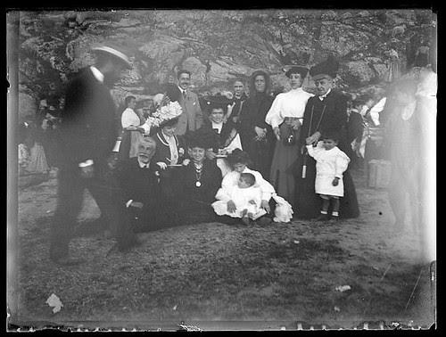 Romería del Valle en Toledo hacia 1910. Colección de D. Santiago Relanzón Almazán,  Ayuntamiento de Toledo