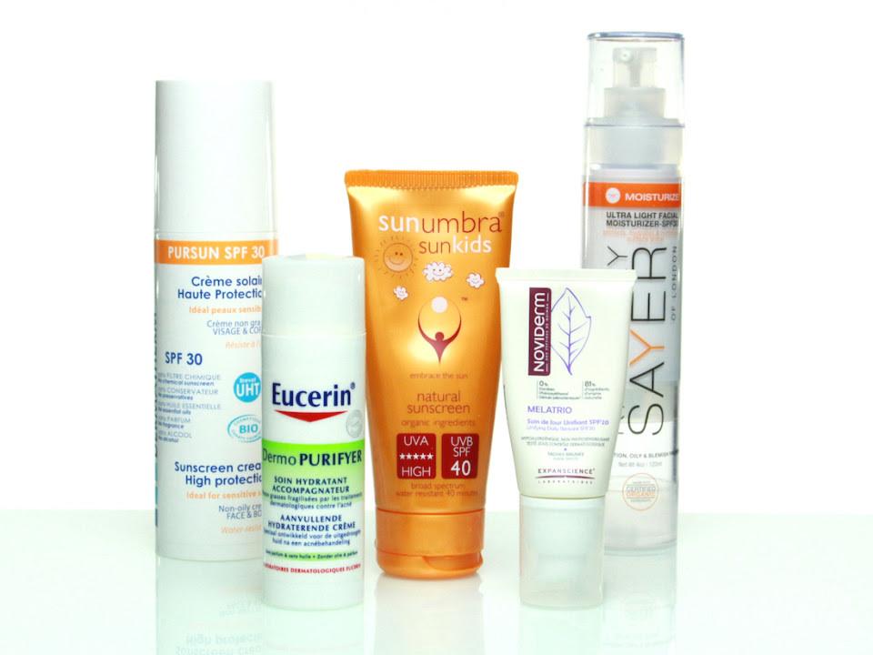 Anti-Aging Sonnenschutz Cremes und Lotionen