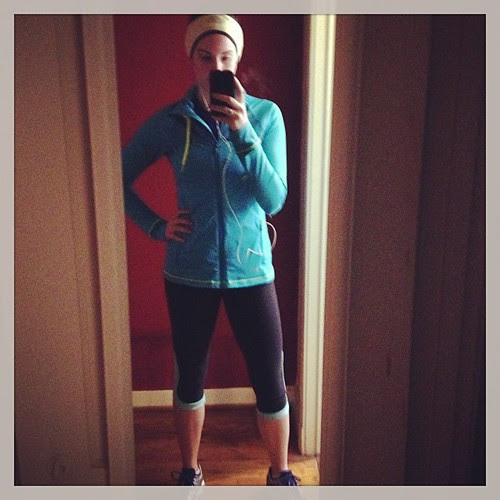 It's April! Why am I still so bundled up for my runs??