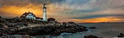 portland head light lighthouse  hd desktop wallpaper