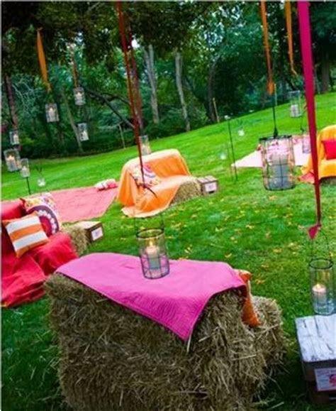 Dance floors, Jars and Hay bale seats on Pinterest