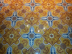 Cuban Tiles from the Aguayo Factory
