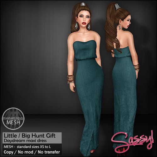 Sassy! Little Big Hunt Gift - Daydream dress