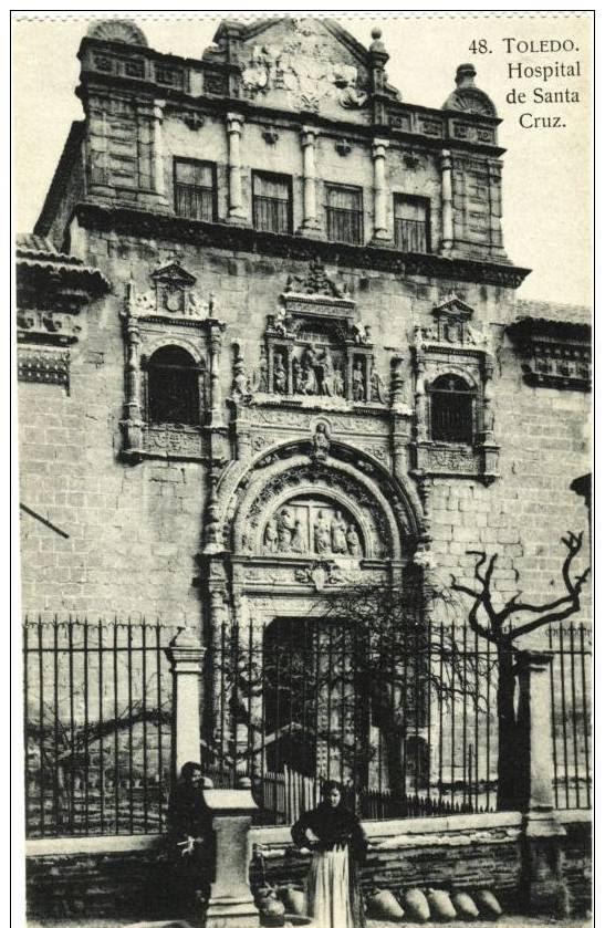 Museo de Santa Cruz a inicios del siglo XX