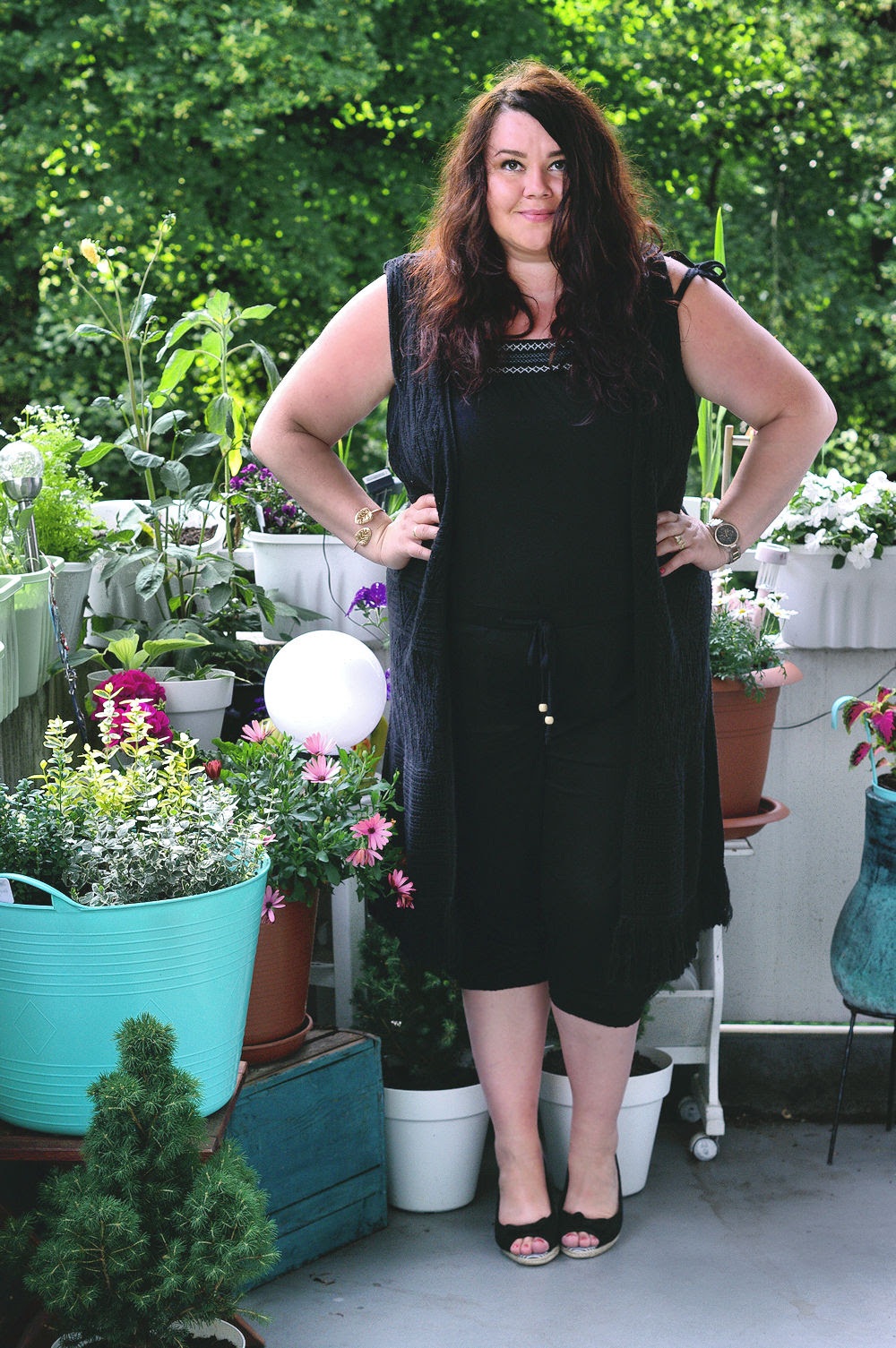 Große Größen Plus Size Fashion Blog kik textilien plus size jumpsuit