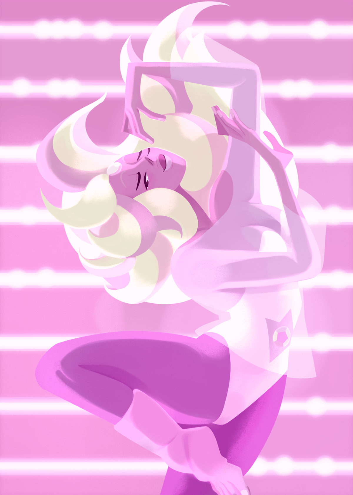 "🎵 Huevember - day 11🎵 ""Pearl thought a fusion might give your video a little… something extra. Pretty cool, right?"""