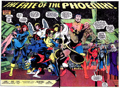 Double-page spread from Uncanny X-Men #137, by John Byrne