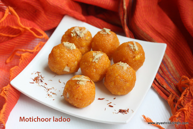 Moti choor- ladoo