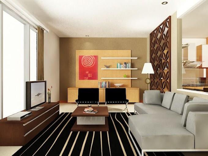 Desain Ruang Keluarga Minimalis Elegan