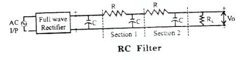 RC filter