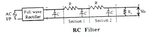 RC and LC Filters - Circuit Diagram, Waveforms and Working Principle
