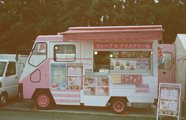 Japaneses Crepes on wheels