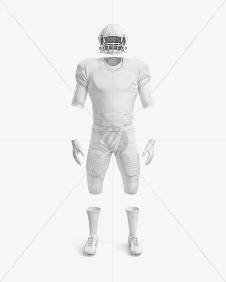 Download American Football Jersey Mockup Psd Free Download - Free ...