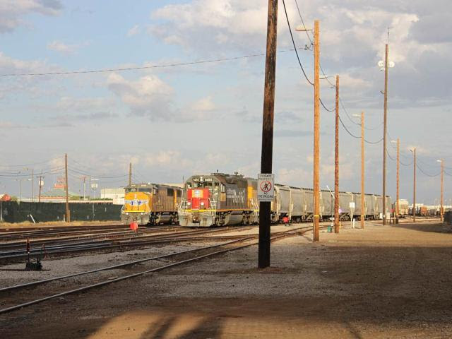 Union Pacific yard in Phoenix Arizona