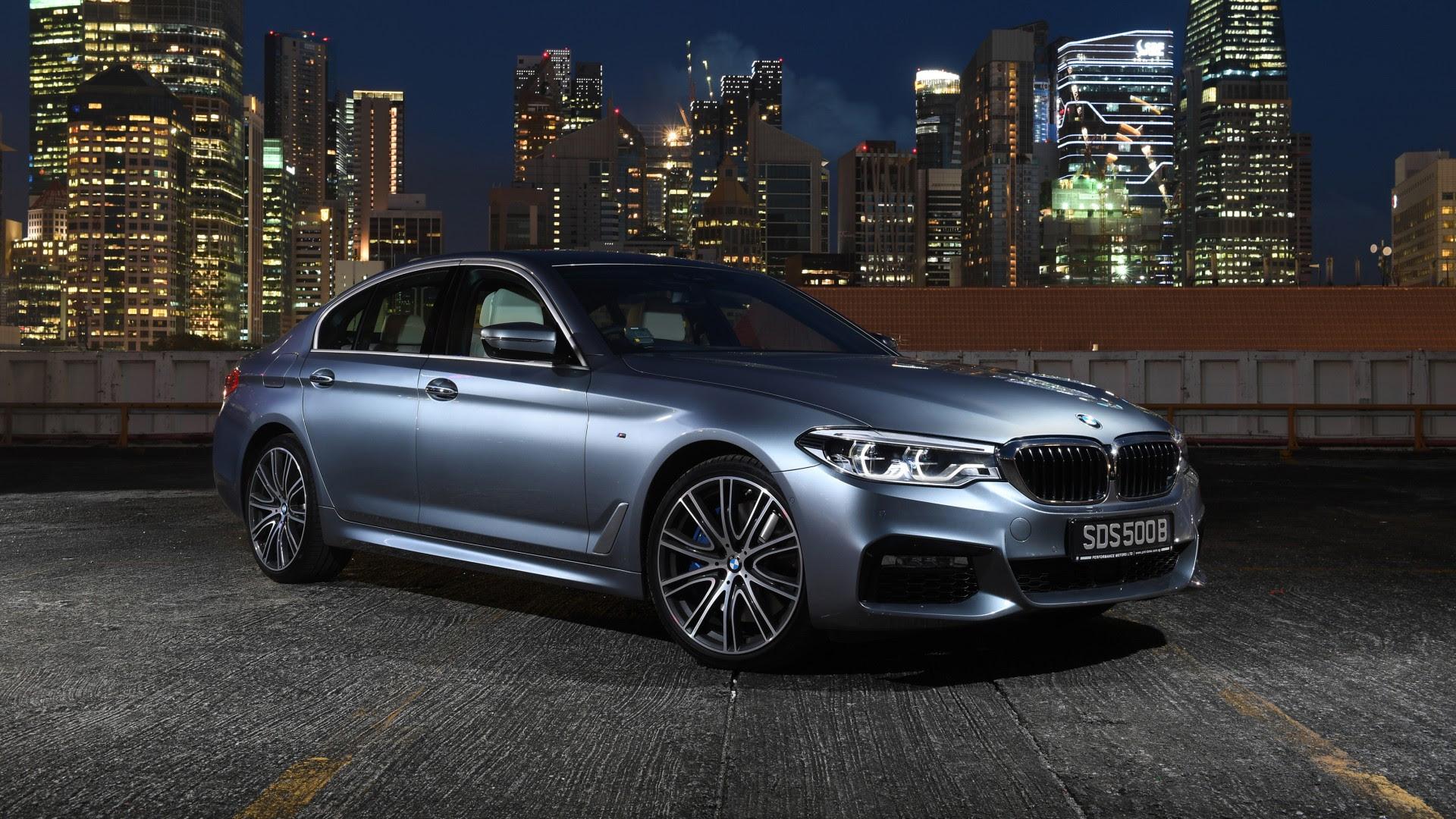 2017 BMW 540i M Spor