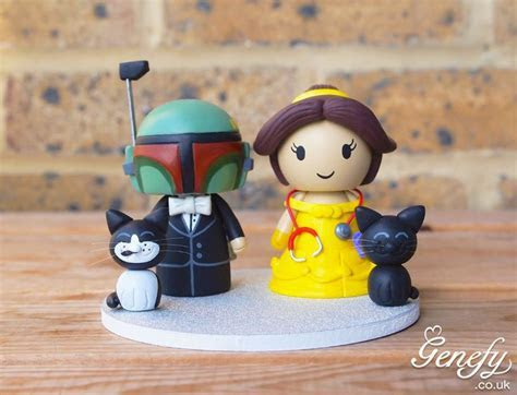 58 best Cute Star Wars Wedding Cake Toppers by Genefy
