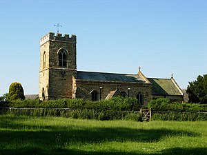 Thornby Church. The epitome of the country church.