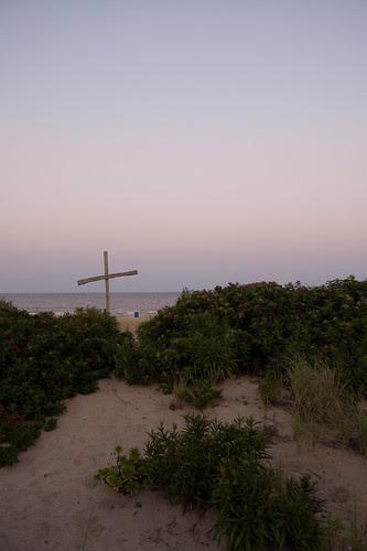 Jesus on the Beach.