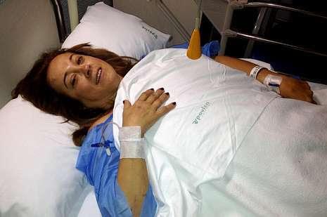 ACCIDENTE AVION EN BARRO: «Era la primera vez que volaba, creí morir»