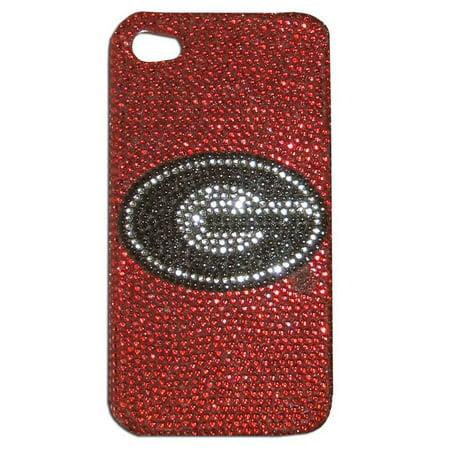 Georgia Bulldogs Iphone Case - Glitz 4g Faceplate