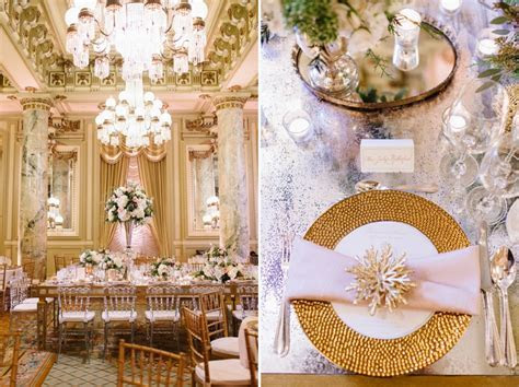 Winter Wedding at The Willard Hotel   Washington DC