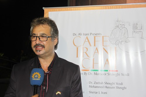 The World Famous Irani Chaiwala  Dr Mansoor Showghi Yezdi by firoze shakir photographerno1
