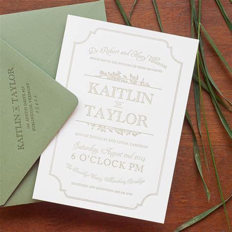 Kaitlin   Taylor's Urban Winery Wedding Invitations
