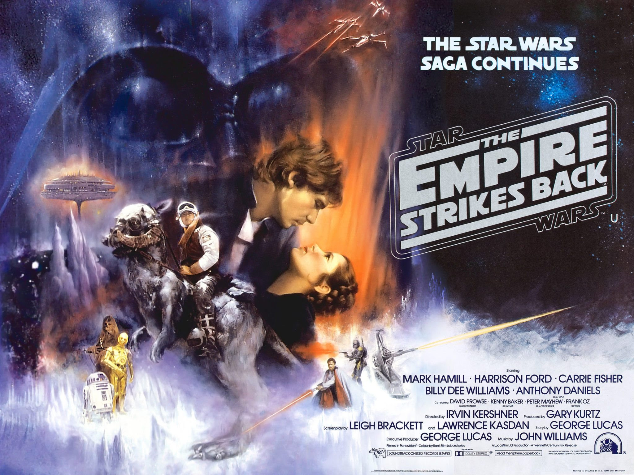 Star Wars Episode V Luke Strikes Out On His Own As The Empire