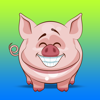 QUY LE - Lovely Pig Stickers artwork