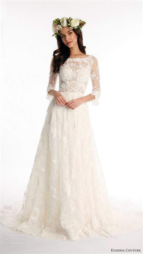 Best 25  Aline wedding dresses ideas on Pinterest   Sleeve