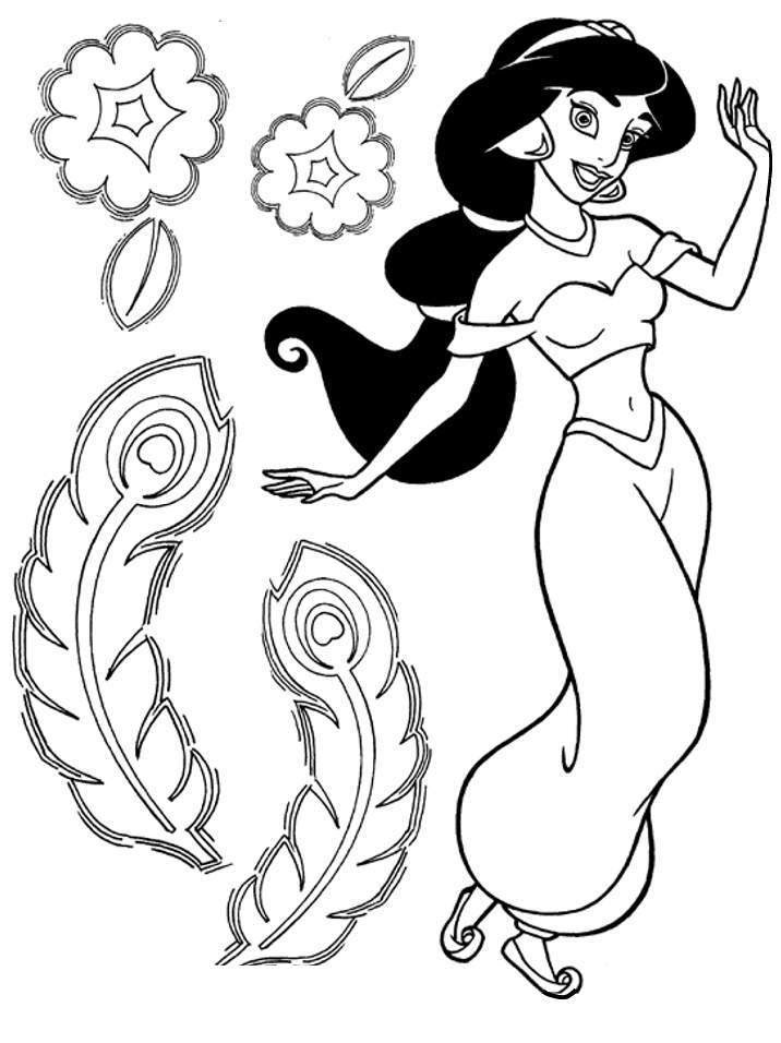 Disney Princess Coloring Pages 42 Free Printable Coloring Pages