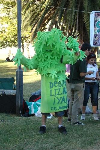 Marcha Mundial por la Marihuana Rosario 2009