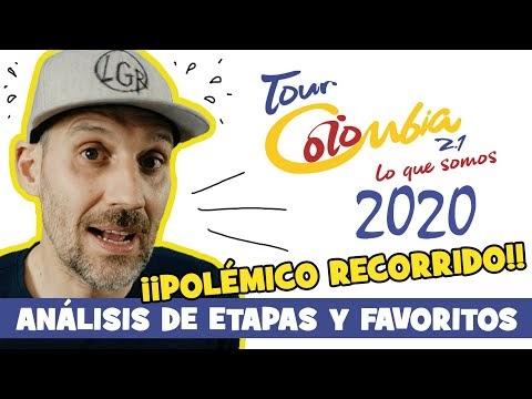EL POLÉMICO recorrido del TOUR COLOMBIA 2020... 2.1 (Es Tunja, no Tunya...) - Alfonso Blanco
