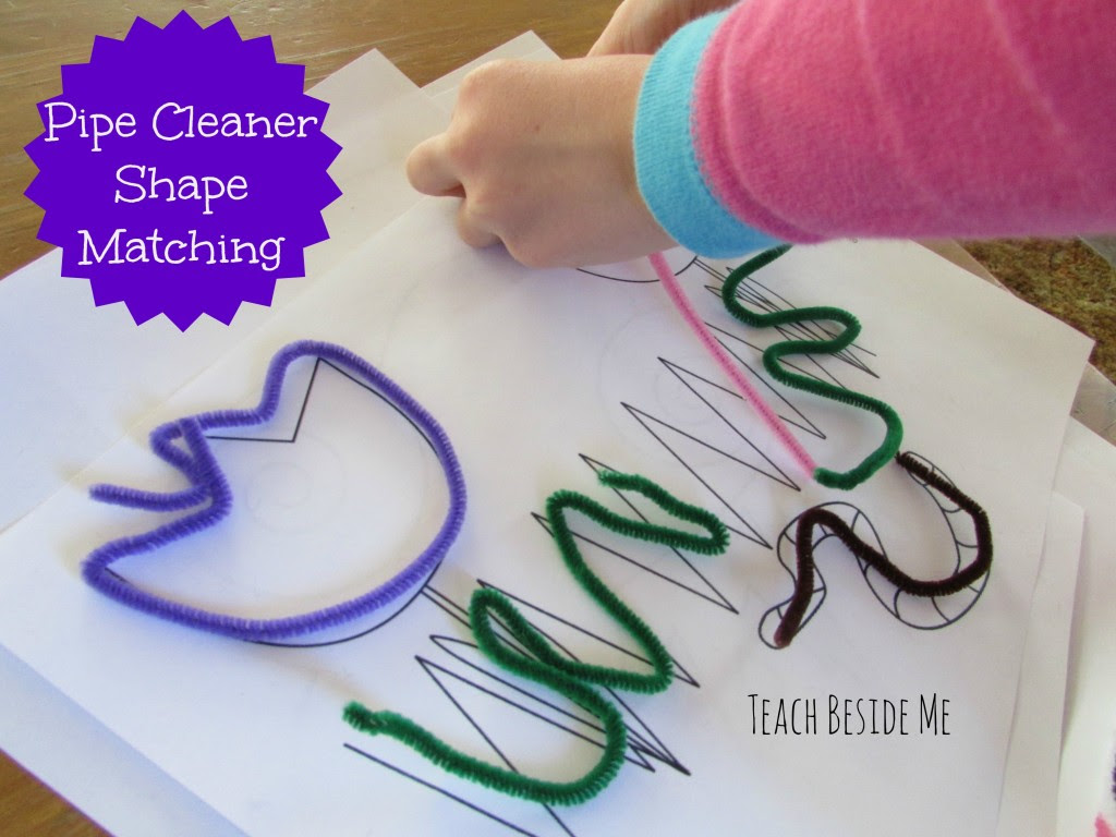 pipe cleaner shape matching