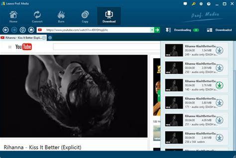 apps  convert youtube  mp leawo tutorial center