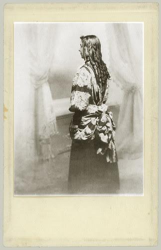 RPPC woman