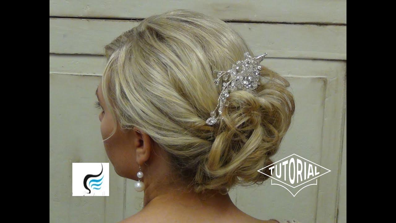 Gorgeous Wedding  Hair  Updo  Hairstyle  YouTube