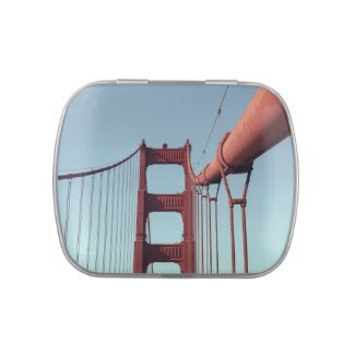 On The Golden Gate Bridge Jelly Belly Candy Tins