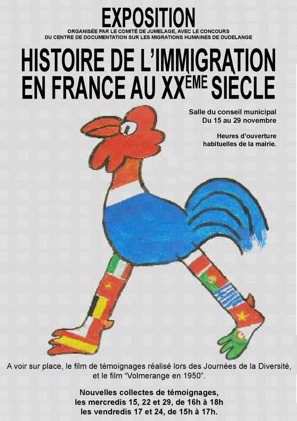 Illustration «Histoire de l'immigration en France au XXe siècle».