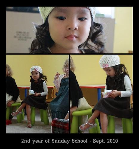 second year of sunday school
