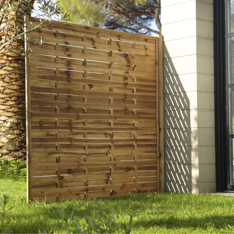 Pare Vue Jardin Bois panneau occultant bois idees ~ accueil design et mobilier