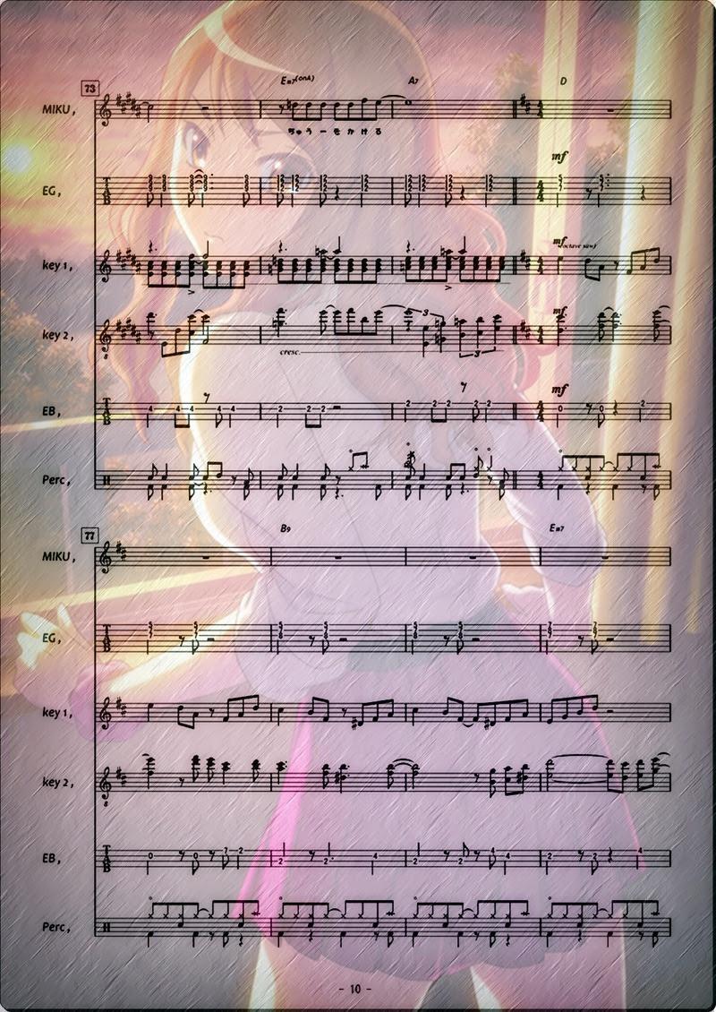 真珠色のVISION Band 10p n7edit