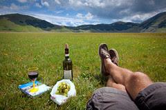 'Wine Break', Italy, Apennine Mountains, Umbri...