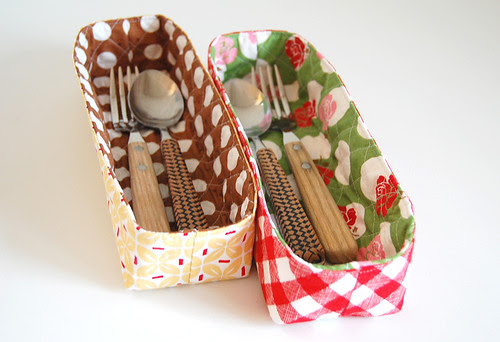 Trays in Sew Cherry