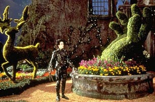 Edward no seu jardim