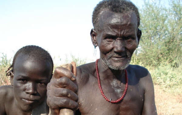 The Kwegu are one of the tribes threatened by the Gibe III dam in Ethiopia's Omo valley.