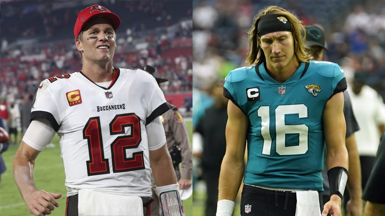 QB Index, Week 2: Tom Brady just gets better with age, while Trevor Lawrence shows his youth