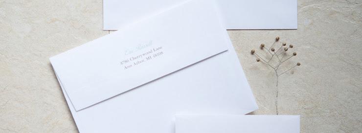 Return Address Wedding Etiquette